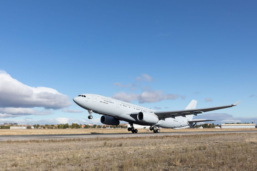 A330 MRTT des forces aériennes de la République de Corée