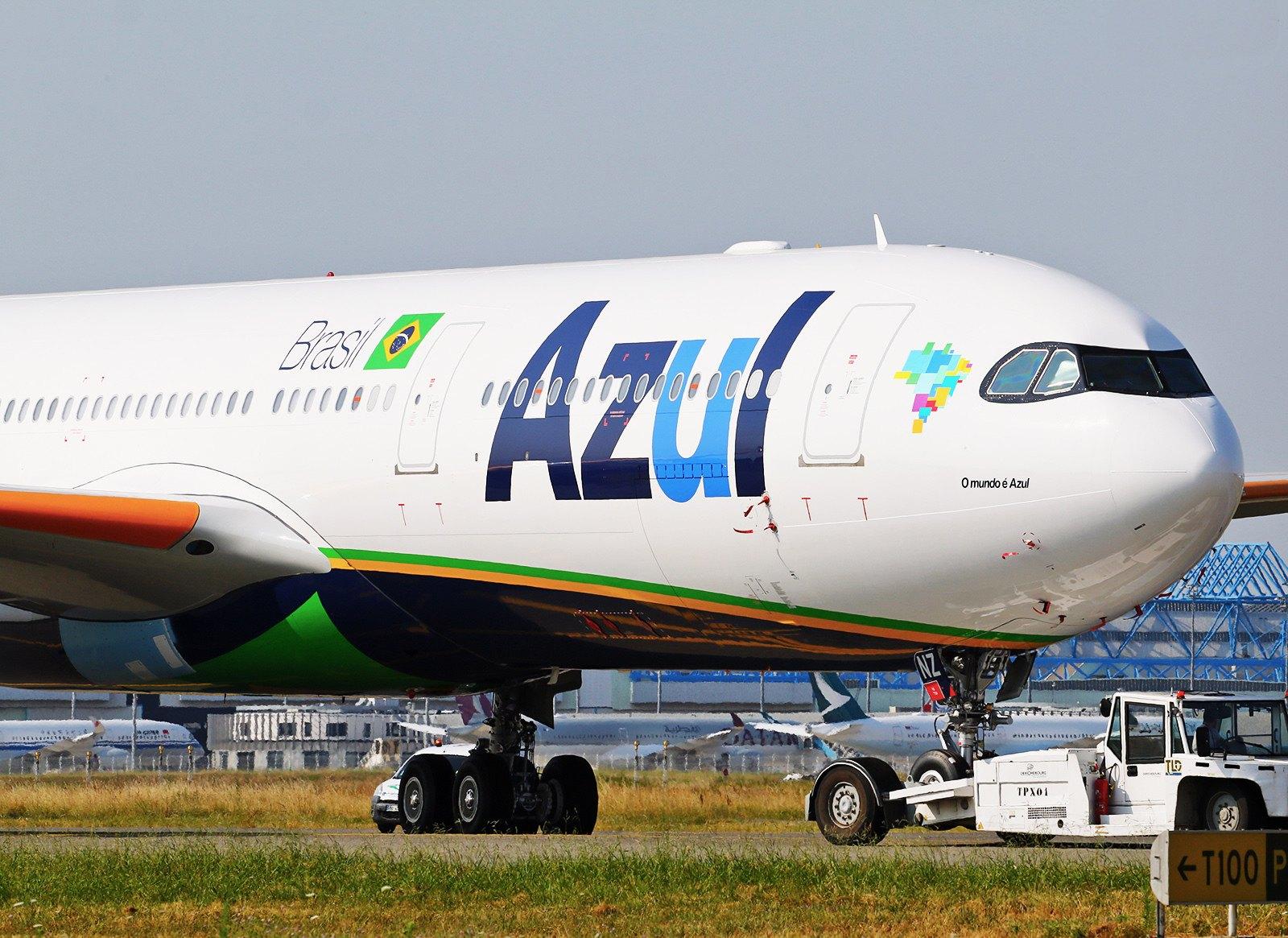 F-WWYP Airbus A330 Neo Azul
