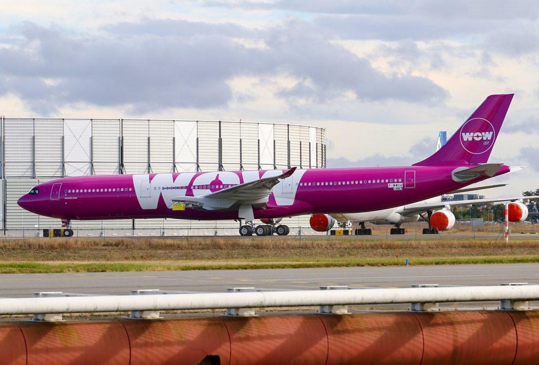 F-WWCU Airbus A330 Neo Wow Air