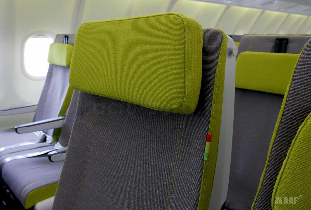 Siège Recaro en classe Eco à bord de l'A330-900 TAP Air Portugal