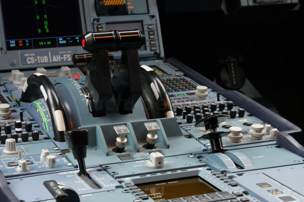 Le cockpit de l'A330-900 TAP Air Portugal CS-TUB