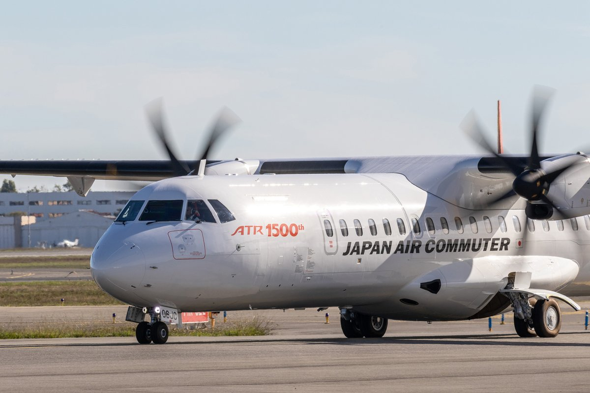 ATR72-600 Japan Air Commuter