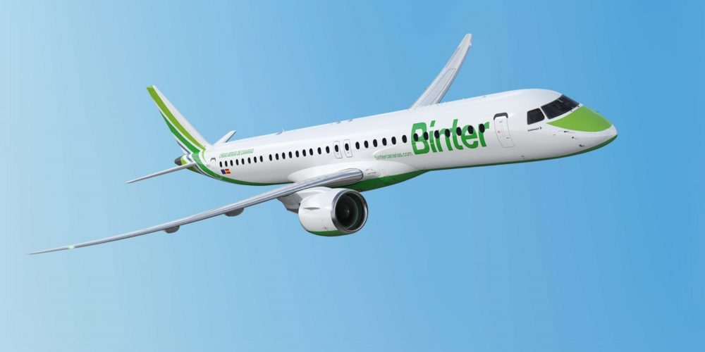 Embraer E195-E2 Binter