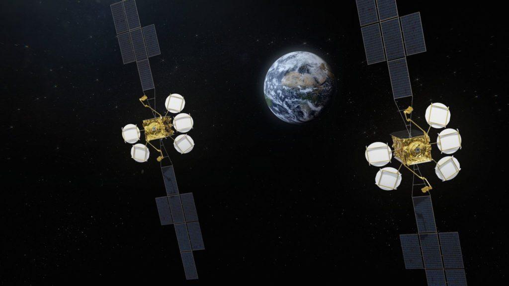 Satellites HOTBIRD Eutelsat