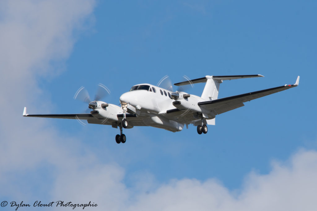 Beechcraft King Air 350 ALSR F-WTAO