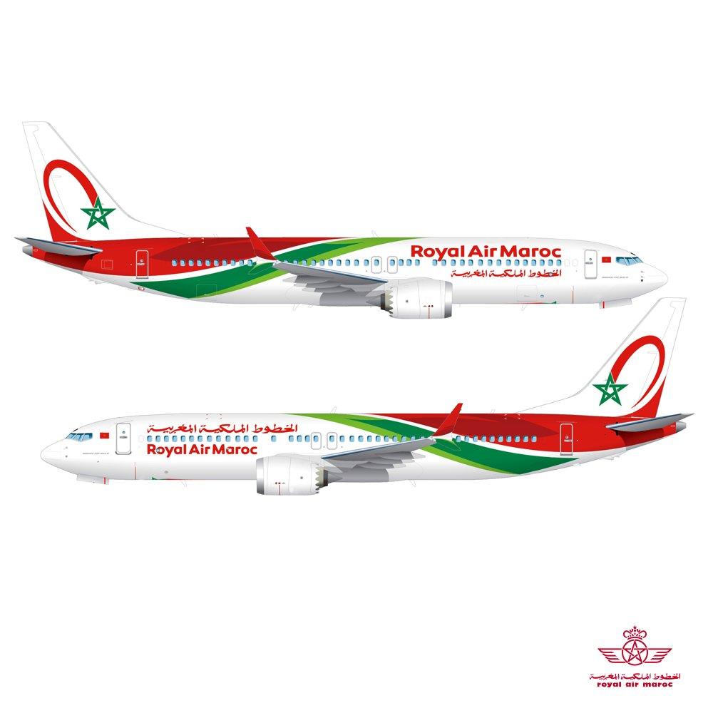 Boeing 737 MAX 8 Royal Air Maroc