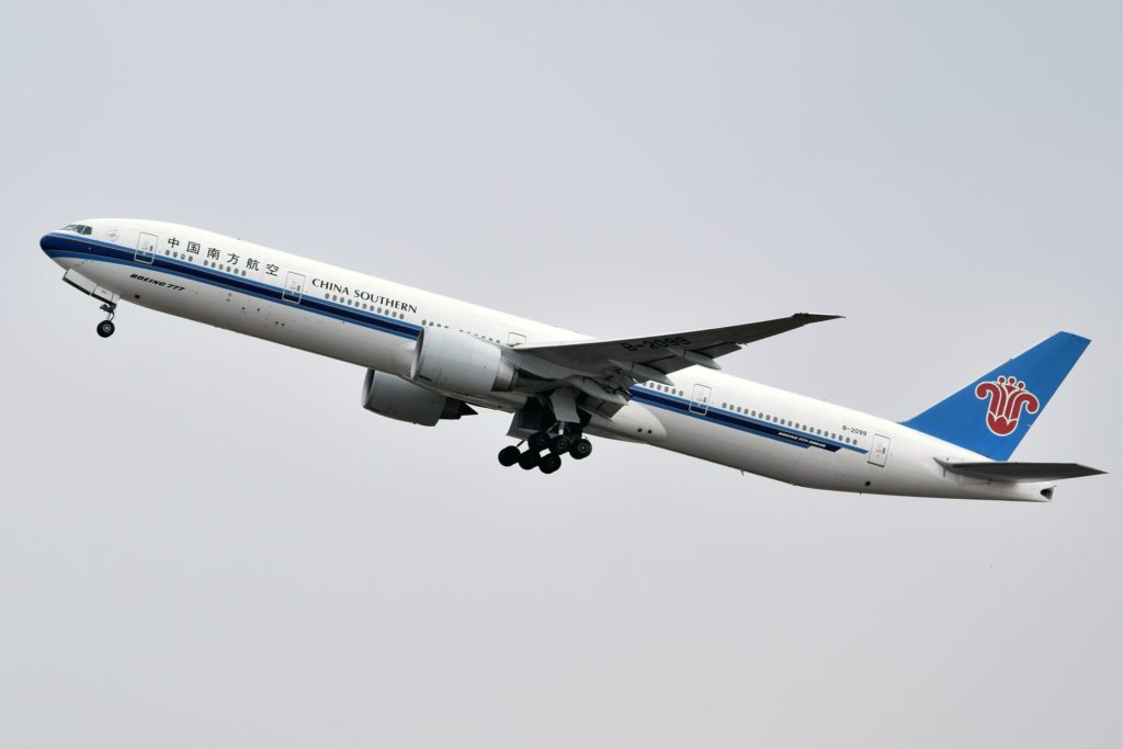 B-2099 China Southern Airlines Boeing 777-31B(ER)