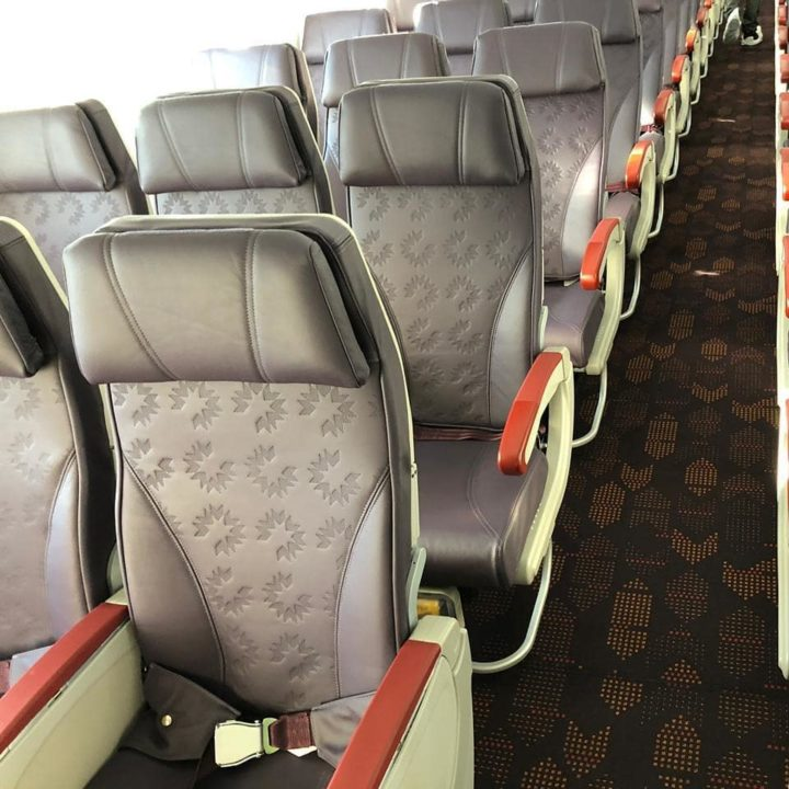 Nouvelle cabine Economie Royal Air Maroc