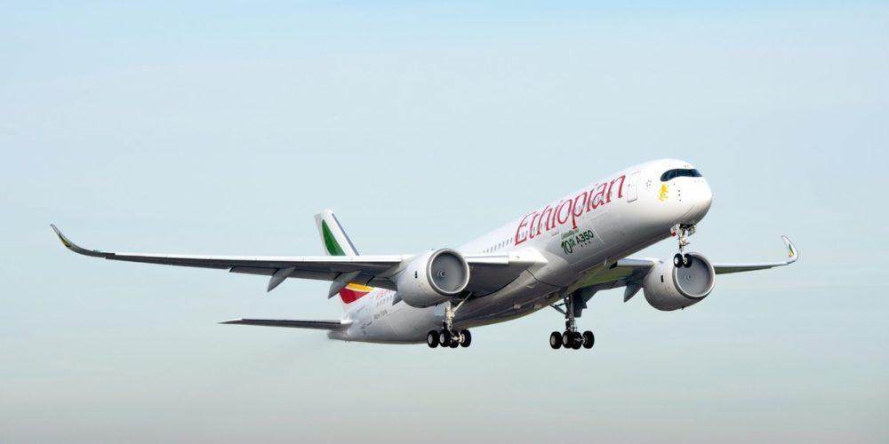 A350-900 Ethiopian Airlines MSN 259 immatriculé ET-AVE