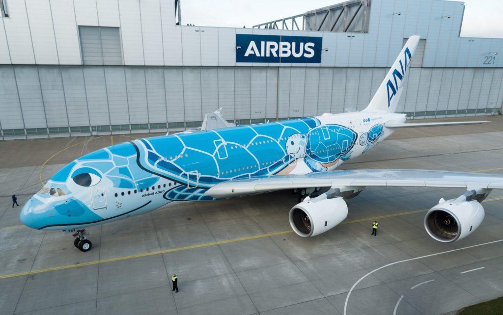 1er A380 ANA