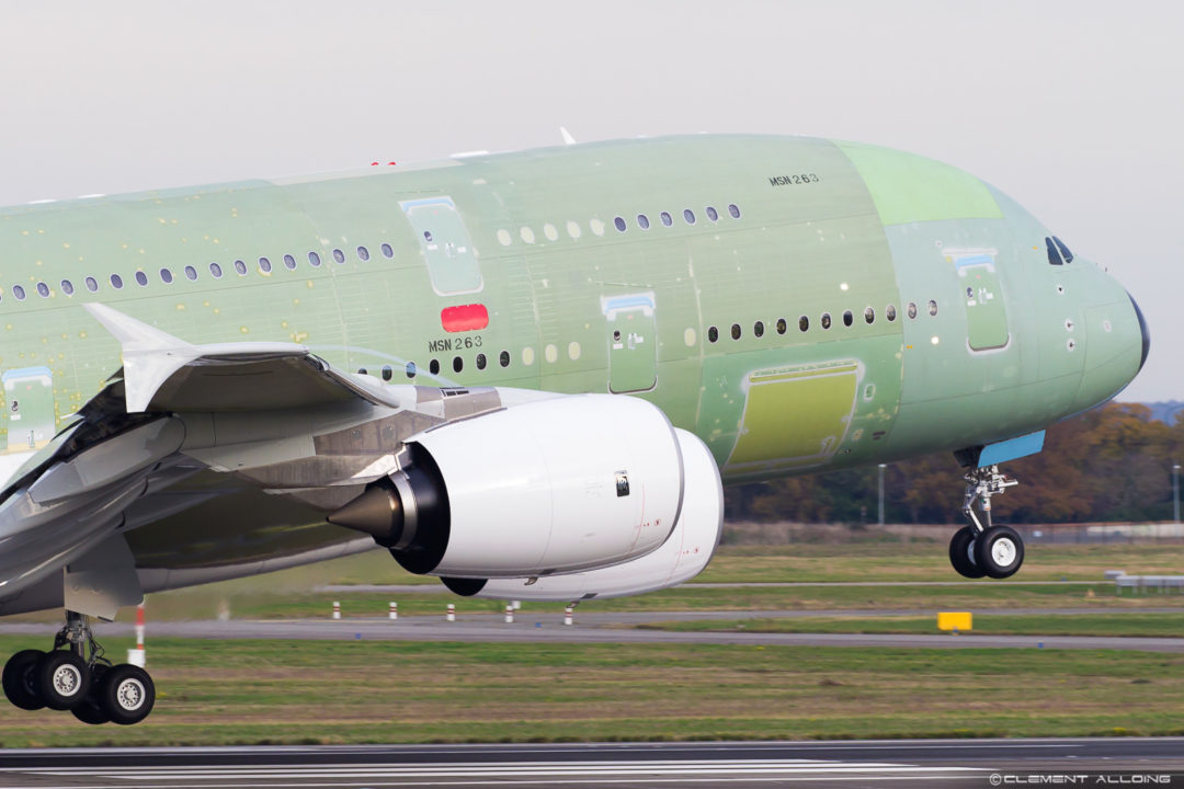 Airbus A380-841All Nippon Airways - MSN 263 / F-WWAF / JA382A