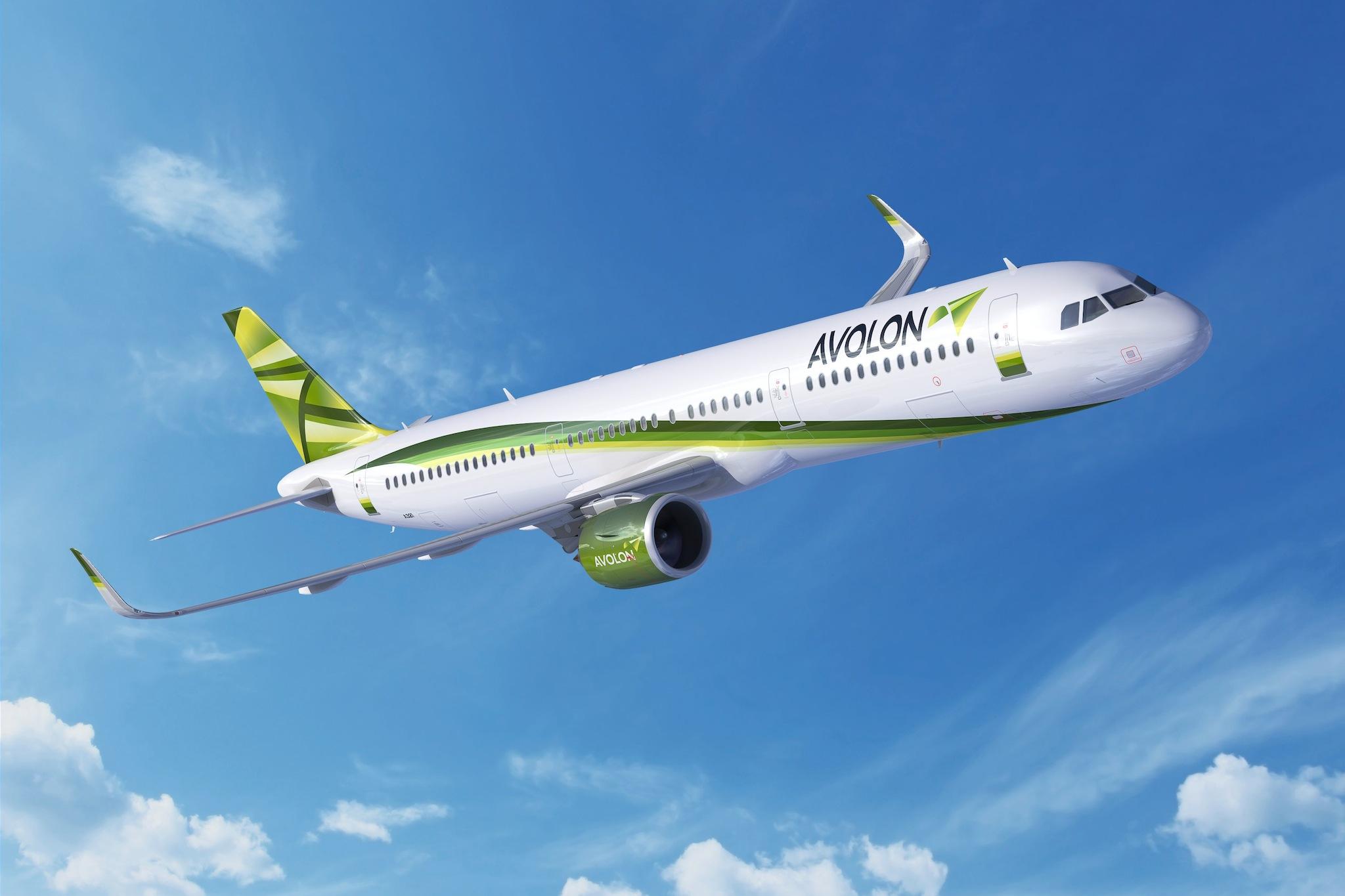 Airbus A321neo Avolon