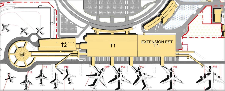 Extension du Terminal T1