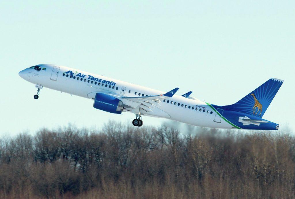 A220 Air Tanzania MSN 55047