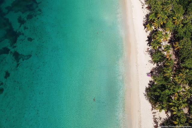 Plage des Antilles françaises