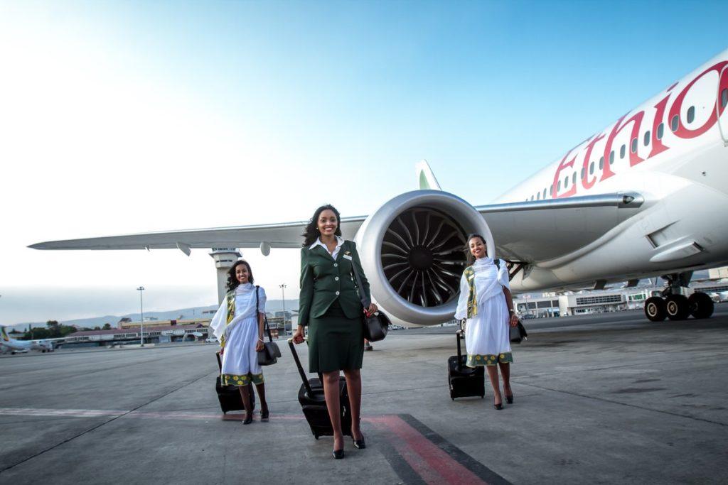 Boeing 787 Ethiopian Airlines