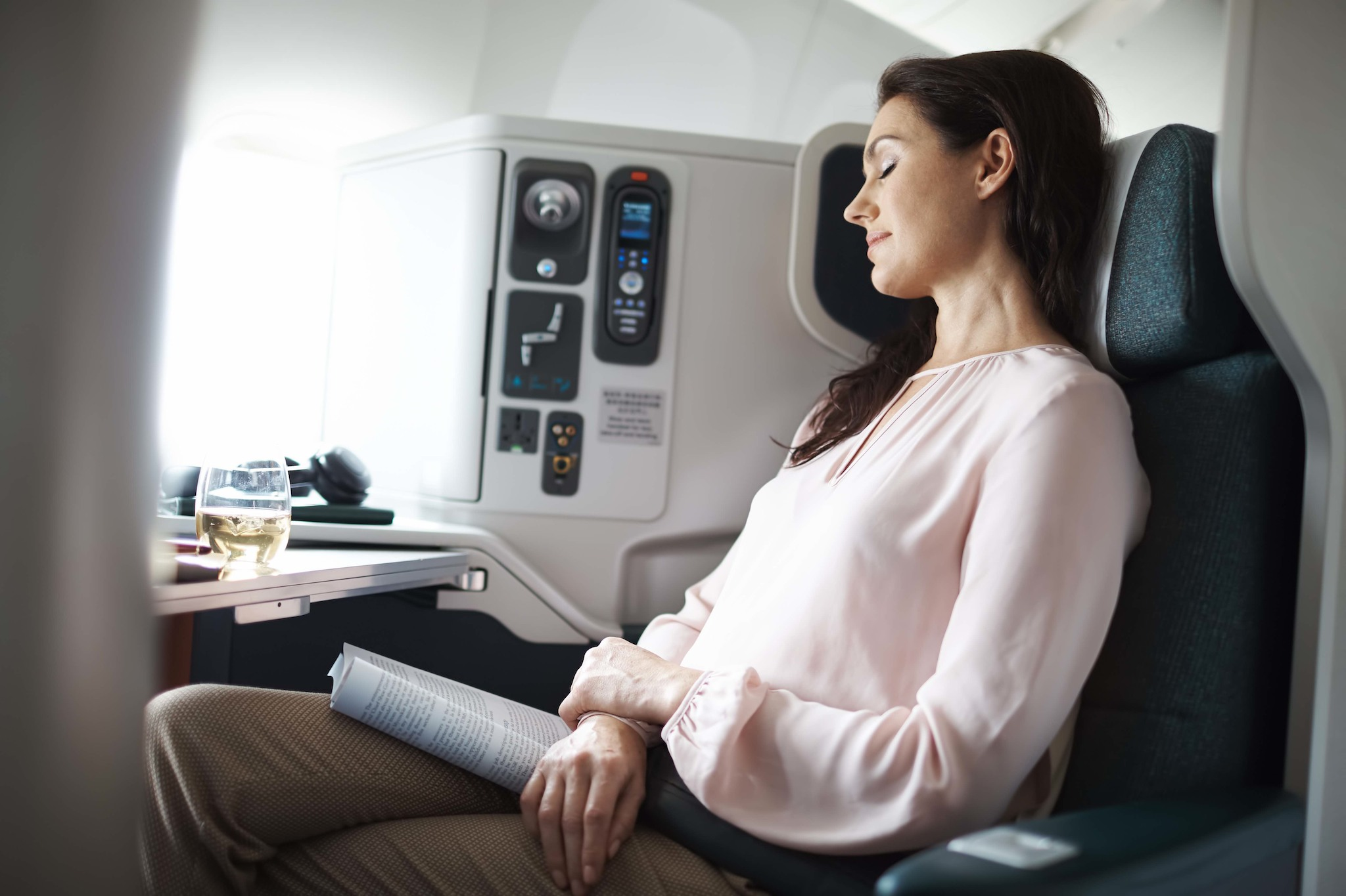Classe Affaires Cathay Pacific