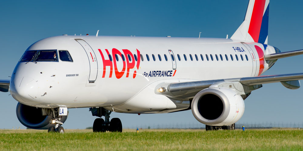 Embraer 190 HOP! Air France F-HBLA