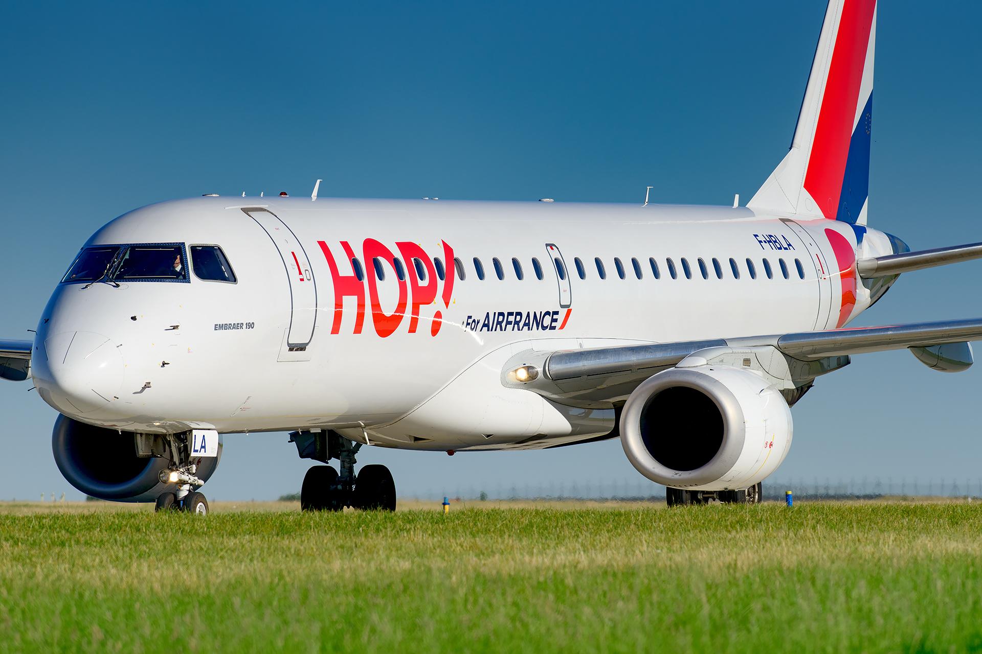 Embraer 190 HOP! Air France F-HBLA