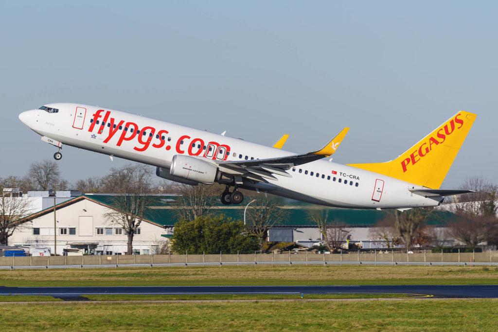 Boeing 737-800 Pegasus TC-CRA