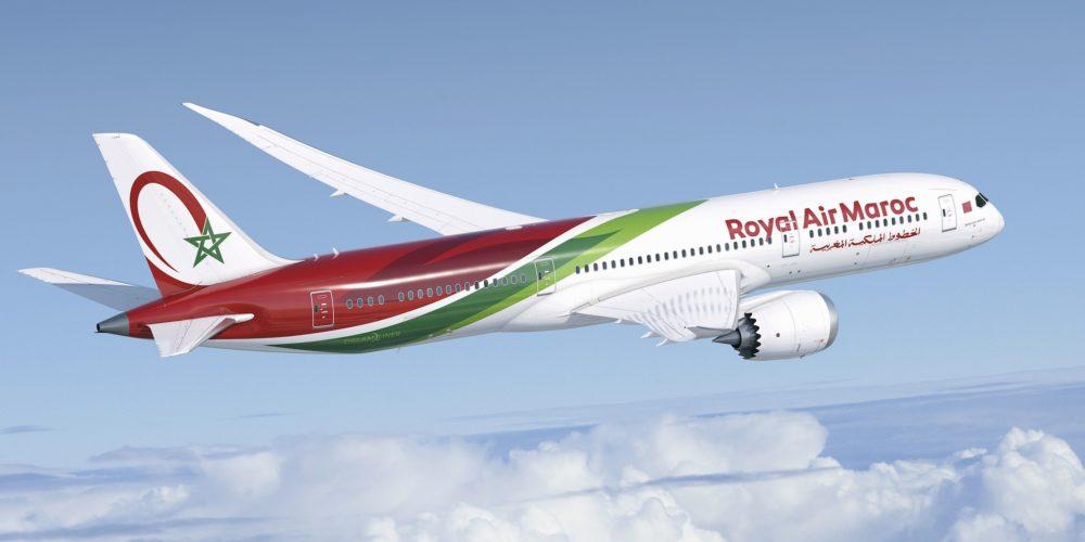 Livrée spéciale du Boeing 787-9 de la Royal Air Maroc