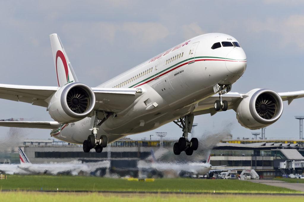 Boeing 787 Royal Air Maroc CN-RGB