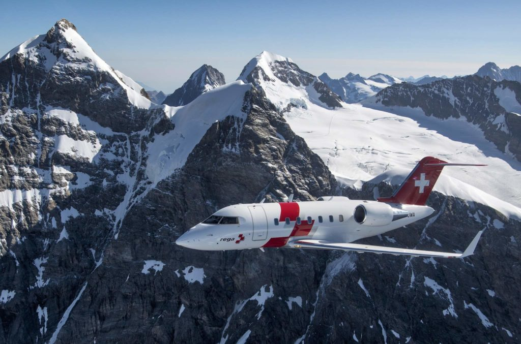 Challenger 650 Swiss Air-Rescue Rega