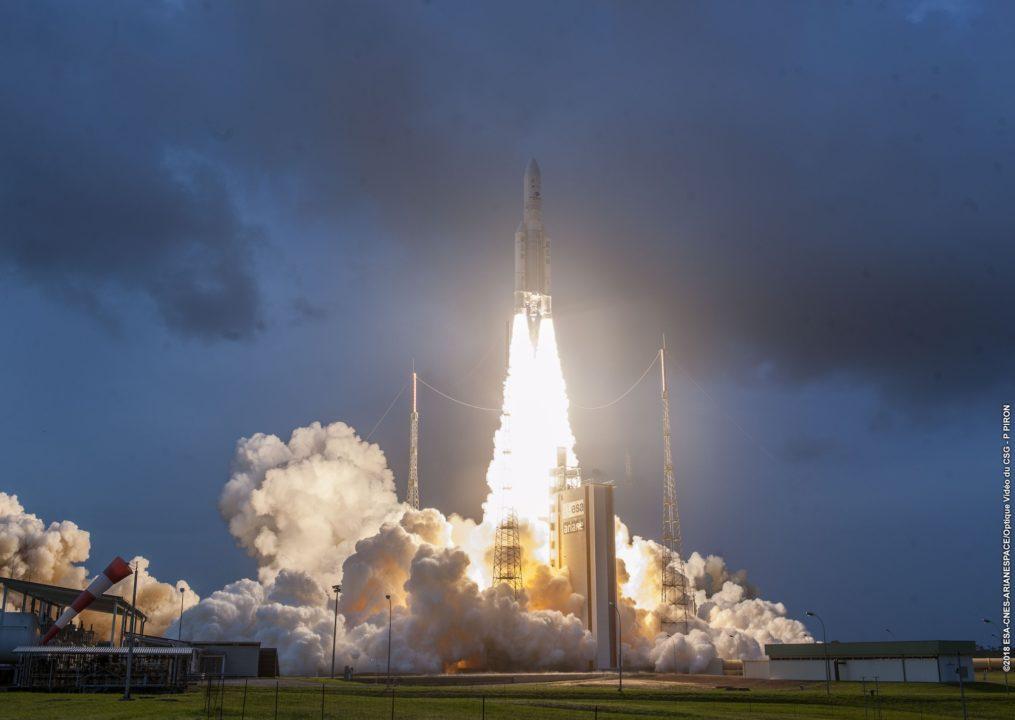 Décollage lanceur plan large en ZL3, le 03-12-2018