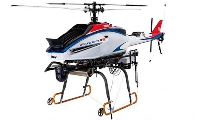 Drones à voilure tournante Yamaha Fazer R