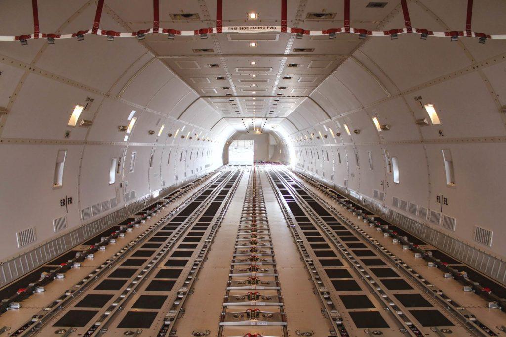 Soute Boeing 747 Cargo