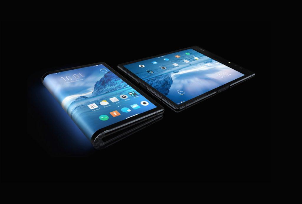 Smartphone flexible de Royole