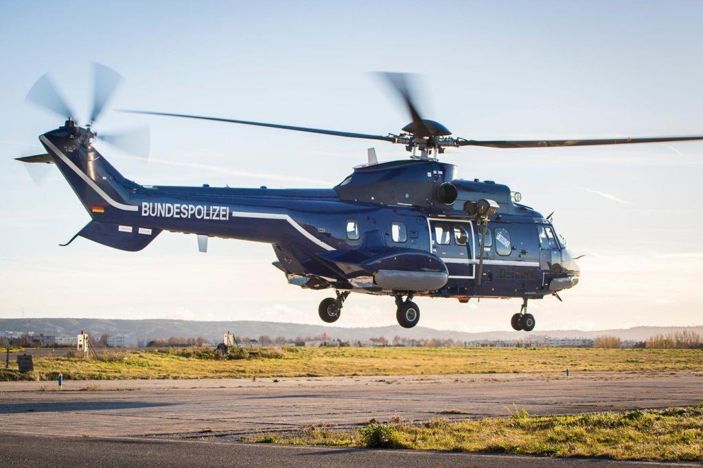 Super Puma H215 Police fédérale allemande