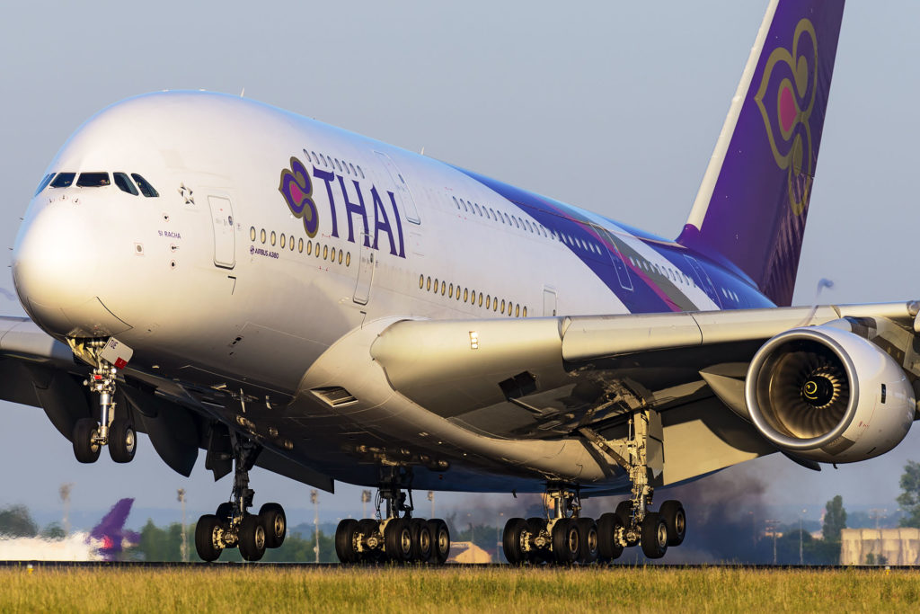 Airbus A380 Thaï Airways HS-TUE