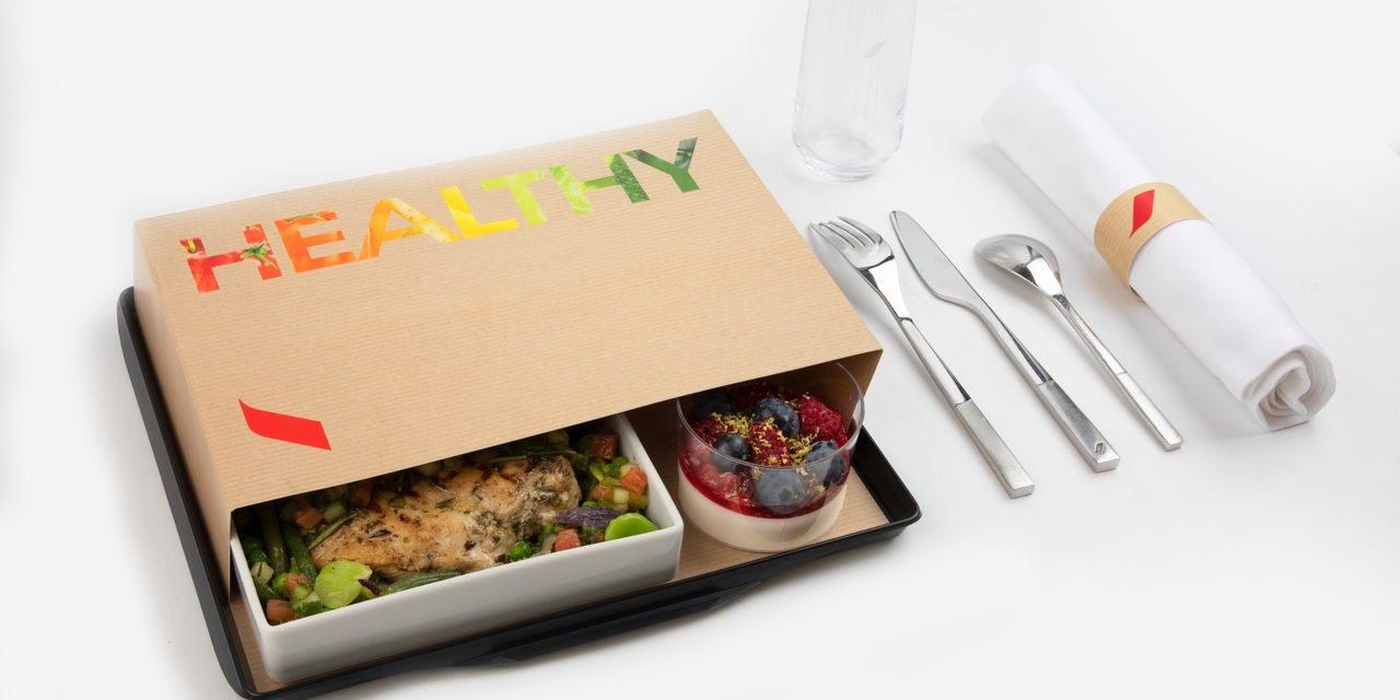 menu Healthy printemps/été