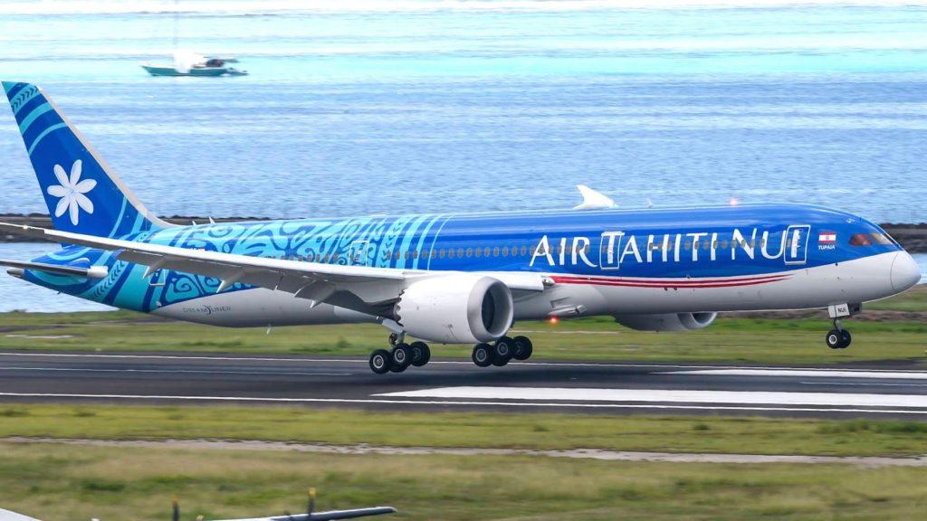 Boeing 787-9 Air Tahiti Nui F-ONUI Tupaia