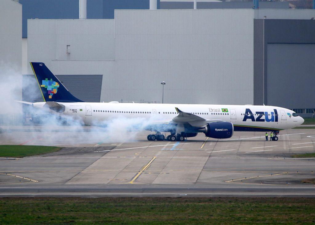 Airbus A330 Neo Azul F-WWYP / MSN 1876 PR-ANZ Airbus A330 Neo Azul F-WWYP / MSN 1876 PR-ANZ