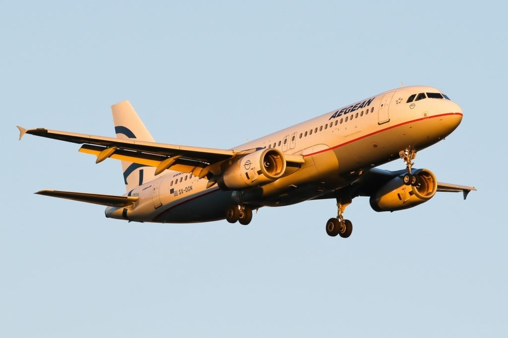SN-DGN A320 Aegean Airlines