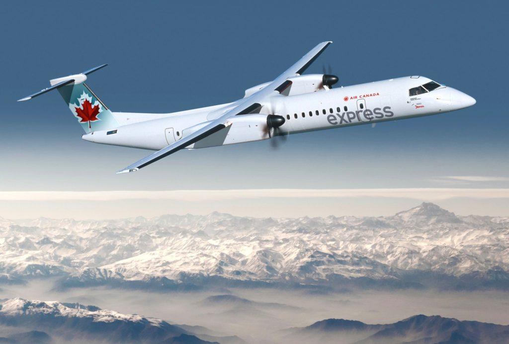 Q400 Air Canada Express