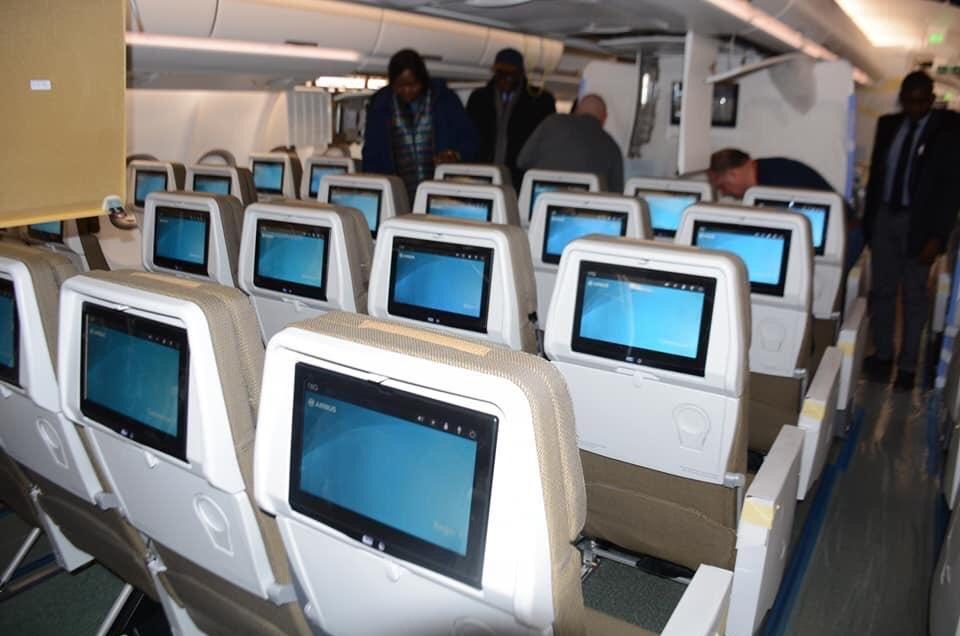 Cabine Eco de l'A330neo Air Sénégal