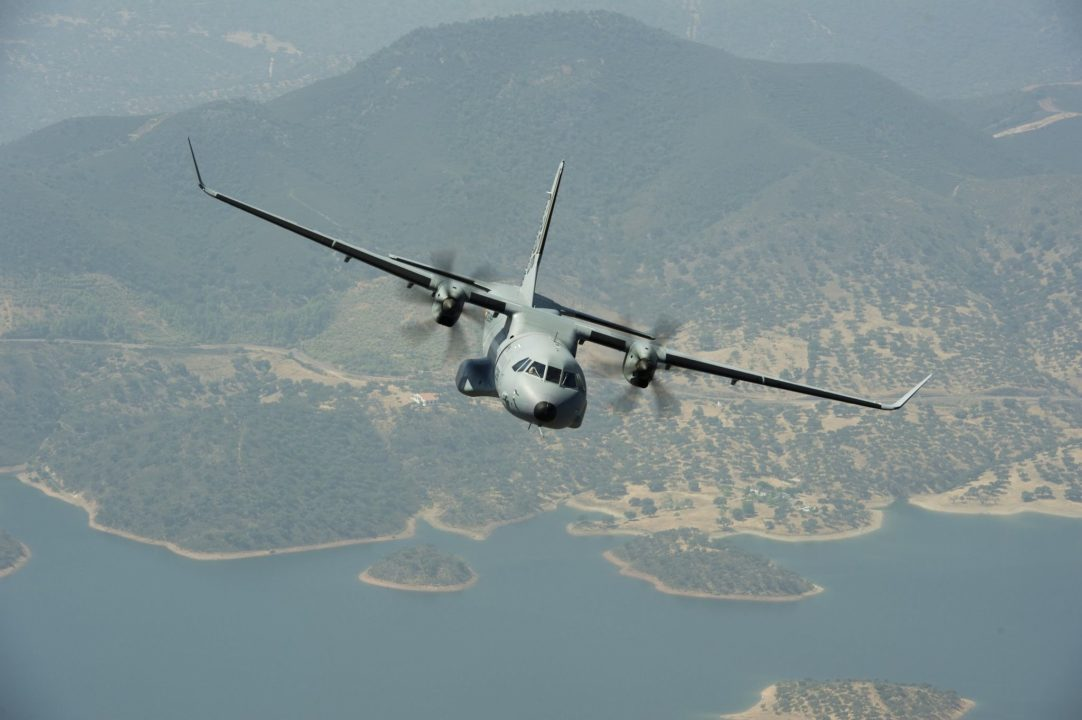 Avion de transport moyen C295