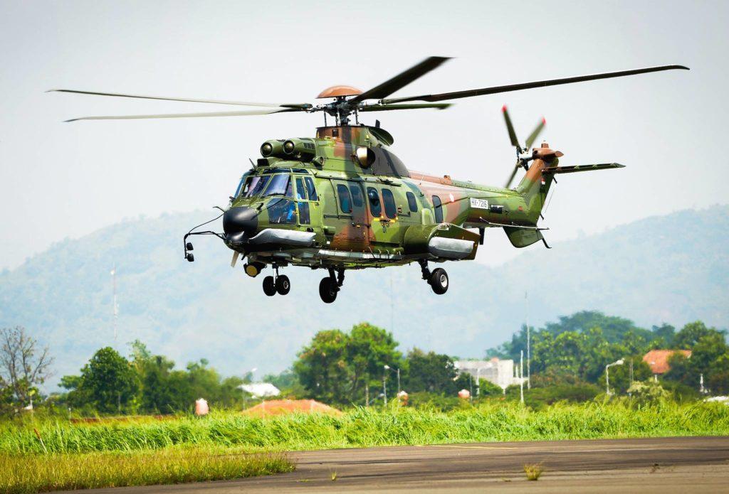 H225M des forces aériennes indonésiennes
