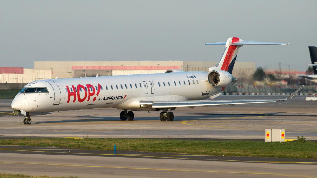 Bombardier CRJ-1000 HOP! F-HMLM
