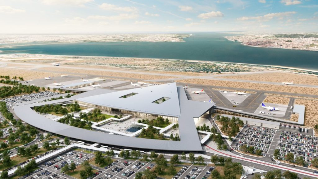 Projet des futurs aménagements sur l'aéroport Humberto Delgado