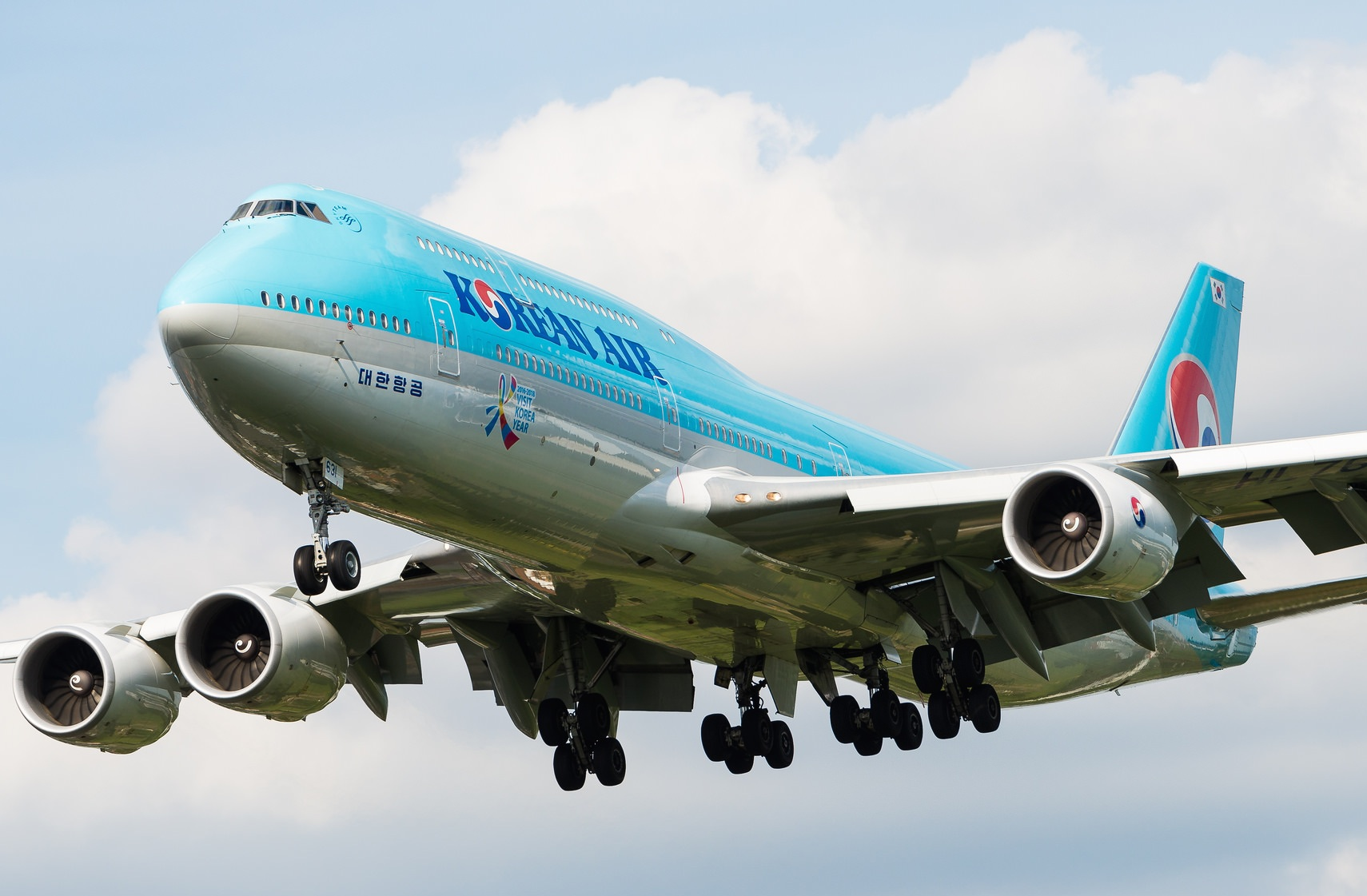 Boeing 747-8B5 Korean Air HL7631