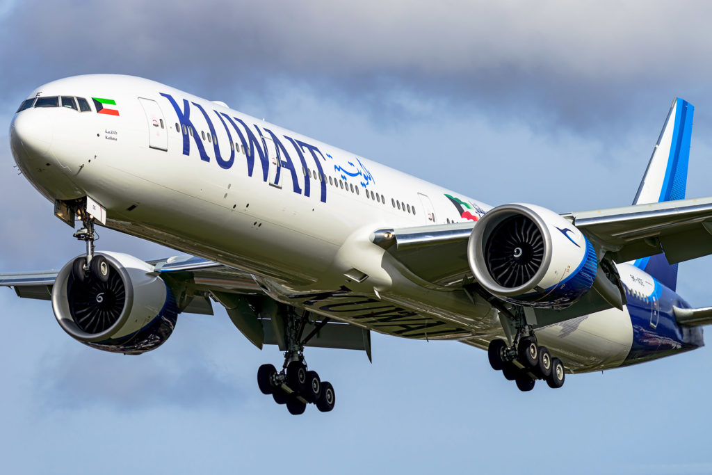 B777-300ER 9K-AOE KUWAIT AIRWAYS