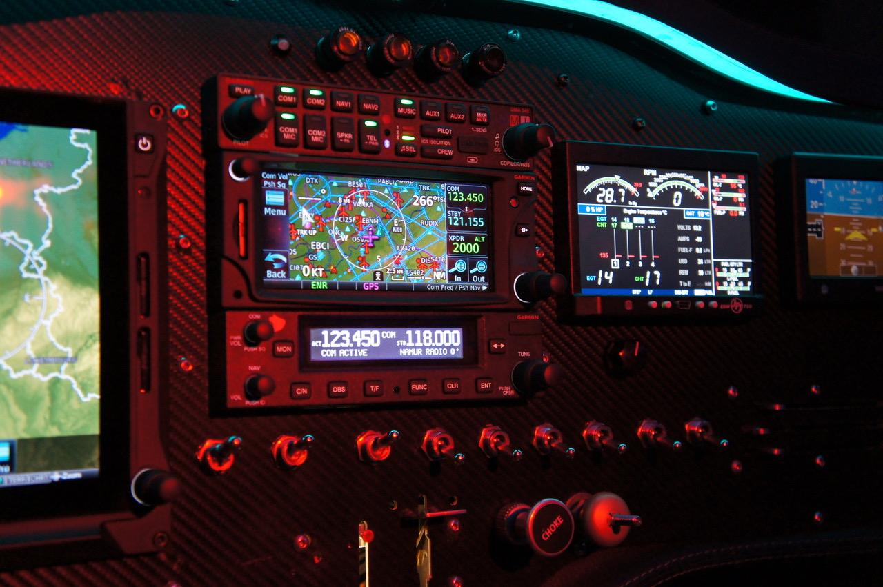 Sonaca 200 Trainer Pro équipé de Garmin G500 TXI