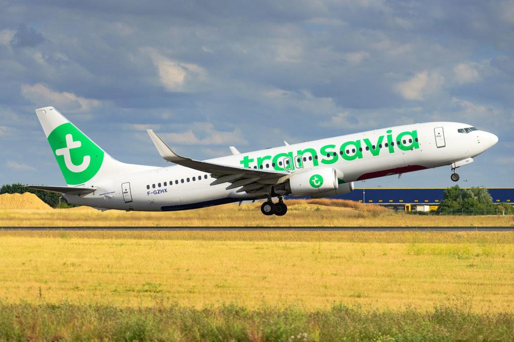 Boeing 737-800 Transavia F-GZHX