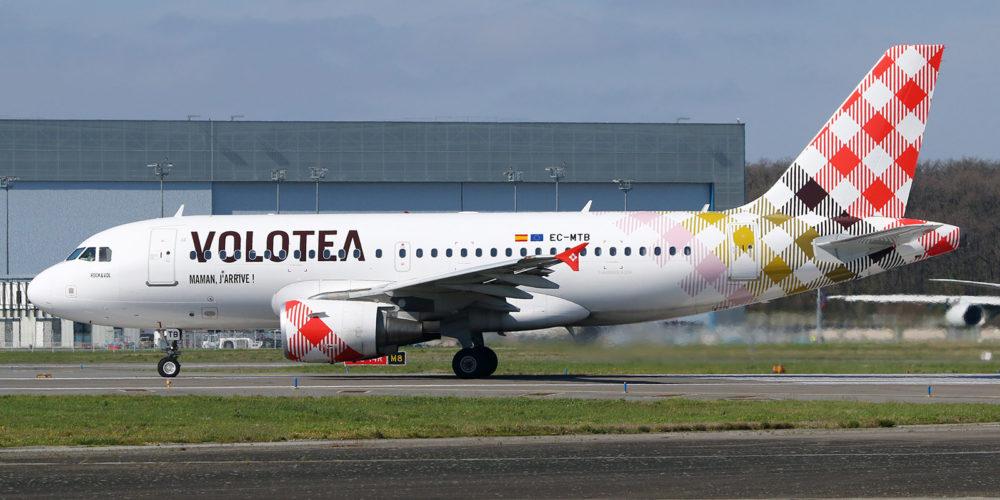 Airbus A319-111 Volotea EC-MTE s/n 2332