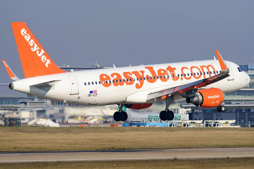 A320 easyJet OE-IJY