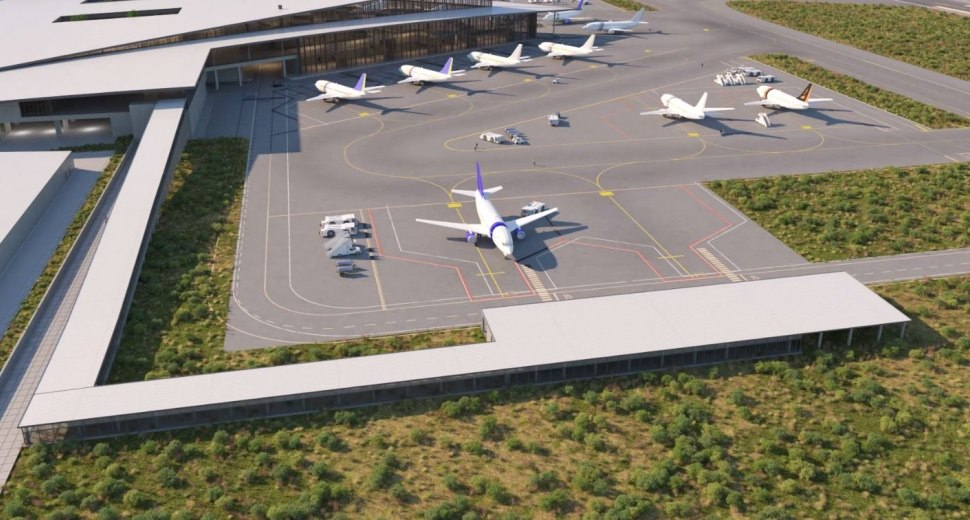 Projet des futurs aménagements sur l'aéroport de Montijo